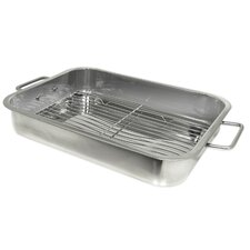 Stainless Steel Lasagna / Roasting Pan with Rack