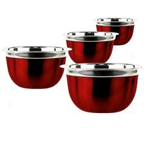 4 Piece Deep Mixing Bowl Set