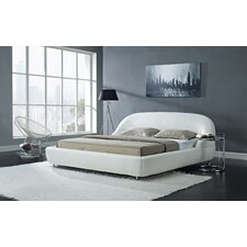 Mia Upholstered Platform Bed