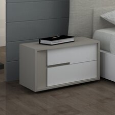 Solo 2 Drawer Nightstand