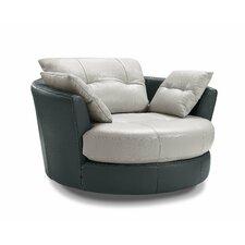 Cecile Swivel Arm Chair