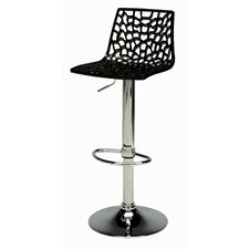 Spider Adjustable Height Swivel Bar Stool (Set of 2)