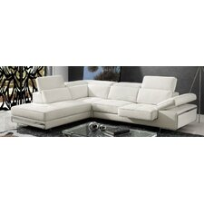 Gio Sectional with Sliding Seat