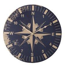 45cm Rose of The Wind Clock