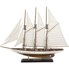 Sailing Ship with 3 Masts Model Boat