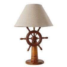 Ship's Wheel 54cm Table Lamp