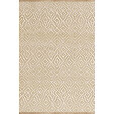 Annabelle Wheat Diamond Indoor/Outdoor Area Rug