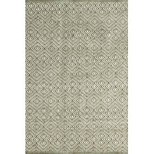 Annabelle Moss Diamond Indoor/Outdoor Area Rug