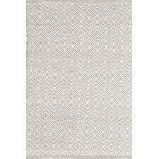 Annabelle Grey Diamond Indoor/Outdoor Area Rug