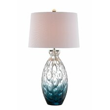 "Baretta 30"" H Table Lamp with Empire Shade"