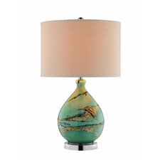 "Mazetti 25.5"" H Table Lamp with Drum Shade"