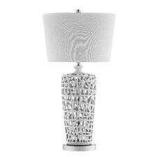 "Easter 33.75"" H Table Lamp with Empire Shade"
