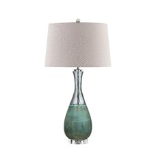 "Turk 31.75"" H Table Lamp with Empire Shade"