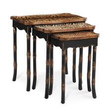 Safari 3 Piece Nesting Tables