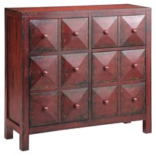 Moulin Block Front 2 Drawer Accent Cabinet