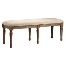 Accent Seating Wooden Bench