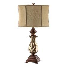 "Maddie 30"" H Table Lamp with Oval Shade"