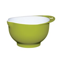 Colourworks Green Melamine Two Tone Mixing Bowl