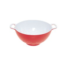 Colourworks Melamine Colander in Red