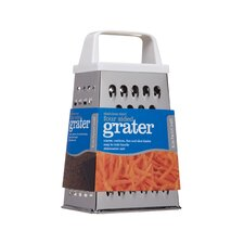 Four Sided Box Grater With plastic handle
