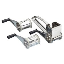 Rotary Grater with Three Drums
