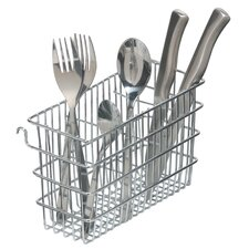 Hook Over Cutlery Draining Basket