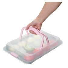 Sweetly Does It 12 Cup Baking Tray with Lid