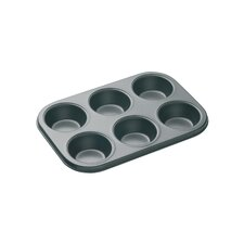 Master Class Non-Stick Bakeware 12 Hole Deep Baking Pan