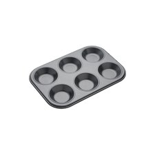 Master Class Non-Stick Bakeware Six / Twelve Hole Shallow Baking Pan