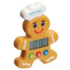 Let's Make Gingerbread Man Digital Timer