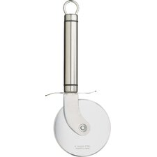 Professional Short Oval Handled Pizza Cutter