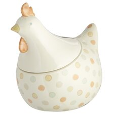 Classic Chicken Shaped Egg Storage Jar