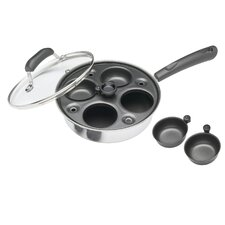 Clearview 4 Hole Nonstick Egg Boiler