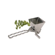Master Class Deluxe Stainless Steel Herb Mill / Mint Cutter