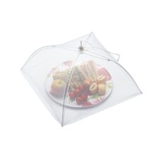 Umbrella Food Cover in White