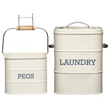 Living Nostalgia 2 Piece Laundry Set