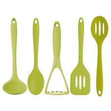 5-Piece Colourworks Silicone Tool Set