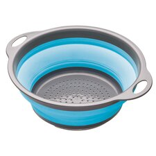 Colourworks Collapsible Colander in Blue