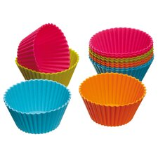 Colourworks Silicone Cupcake Cases (Pack of Twelve)