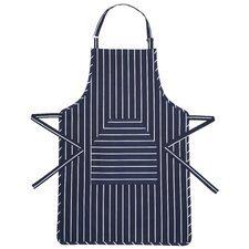 Cotton Butcher's Striped Apron