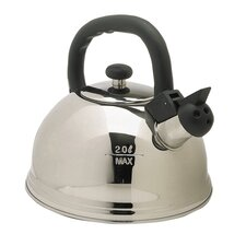 Ciroa Mitis 2L Stainless Steel Stovetop Kettle in Silver