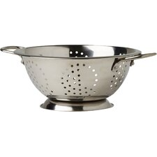 Stainless Steel Twin Wire Handled Colander in Satin