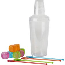 Bar Craft Mix It Cocktail Shaker (Set of 13)