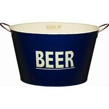 Bar Craft Lock In 40cm Large Tin Beer Pail / Cooler