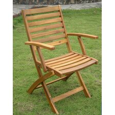 Sandy Point Folding Dining Arm Chair (Set of 2)