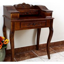 Windsor Hand Carved Wood Telephone Table