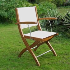 Royal Tahiti Folding Dining Arm Chair (Set of 2)