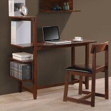 Washington Writing Desk with Side Shelf