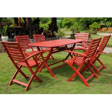 Royal Tahiti 7 Piece Dining Set