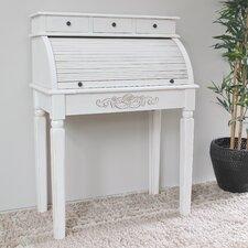 Windsor Antique White Indoor Roll Top Desk